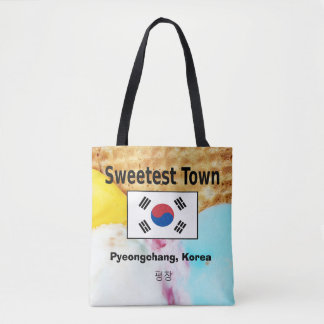 """Tote Bag Conception """"de la ville la plus douce"""" -"""