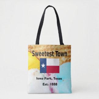 """Tote Bag Conception """"de la ville la plus douce"""" pour le"""