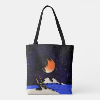 Tote Bag Conception de nuit d'île