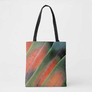 Tote Bag Conception de plume de queue de perruche