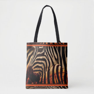 Tote Bag Conception de zèbre et d'impression de motif