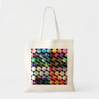 Tote Bag Conception graphique d'hexagone abstrait