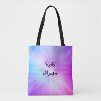 Tote Bag Conception légère pourpre de maître de Reiki