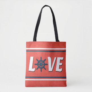 Tote Bag Conception nautique d'amour