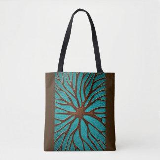 Tote Bag Conception orientale de racine de cuir élégant de