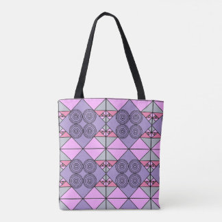 Tote Bag Conception pourpre de motif