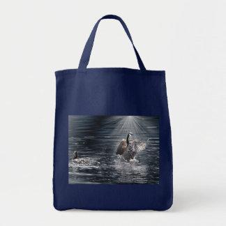 Tote Bag Conception sauvage de canard d'Oiseau-amant de