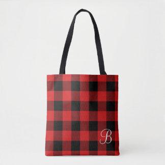 Tote Bag Contrôle Fourre-tout décoré d'un monogramme de