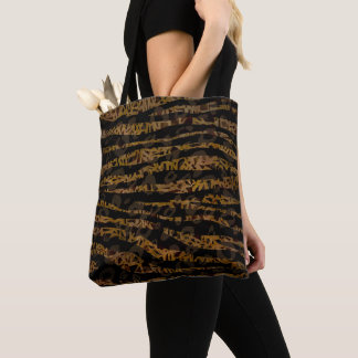 Tote Bag Copie fascinante de jungle de safari élégant chic