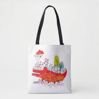 Tote Bag Copie heureuse Fourre-tout de Croc tout plus de -