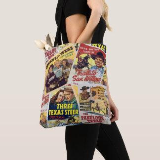 Tote Bag Copie occidentale vintage 2 Fourre-tout d'affiche