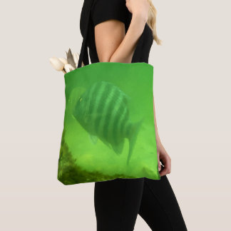 Tote Bag Copie sous-marine de photo de poissons mignons