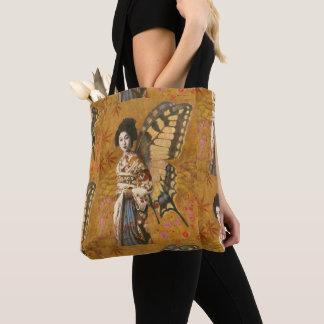 Tote Bag Copie vintage Fourre-tout de geisha partout