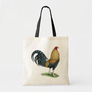 Tote Bag Coq de combat :  Les DOM ou Crele