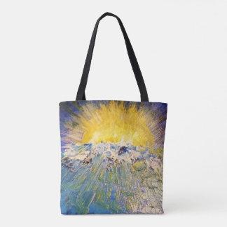 Tote Bag Coucher du soleil d'ange