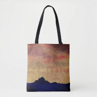"""Tote Bag """"Coucher du soleil d'or d'océan"""" Fourre-tout par"""