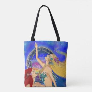 Tote Bag Coucher du soleil portail de Digitals de sirène