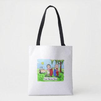 Tote Bag Couples de golf