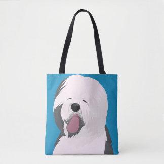 Tote Bag Coutume tout plus de - imprimez le vieux chien