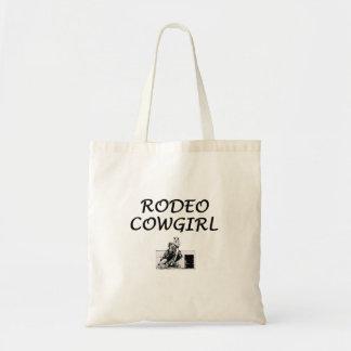 Tote Bag Cow-girl de rodéo de PIÈCE EN T