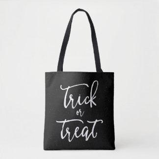 Tote Bag Crâne affligé Halloween de des bonbons ou un sort