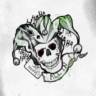 Accessoires Tatouage Joker Cartes Zazzle Fr