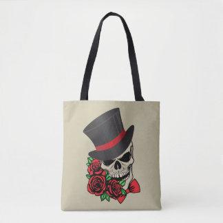 Tote Bag Crâne de monsieur