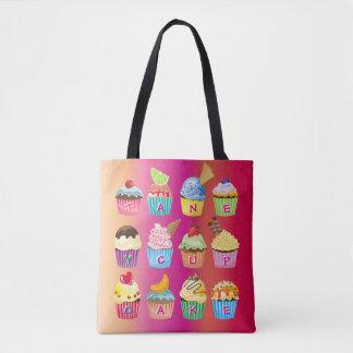 Tote Bag Créez vos propres festins délicieux de monogramme