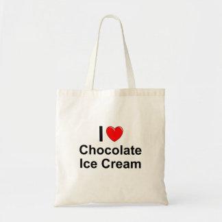 Tote Bag Crème glacée de chocolat