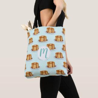Tote Bag Crêpes avec le sirop d'érable et le motif de