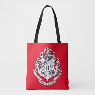 Tote Bag Crête de Harry Potter   Hogwarts - noire et
