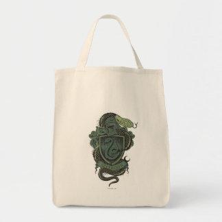 Tote Bag Crête de Harry Potter   Slytherin
