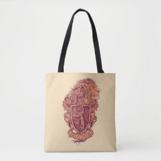 Tote Bag Crête de lion de Harry Potter   Gryffindor