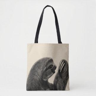Tote Bag Croquis sud-américain de paresse de forêt