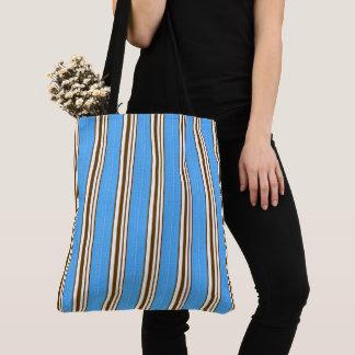 Tote Bag Cru-Mer-Sac-Bleu-Brown-Emballage-Épaule-Sac