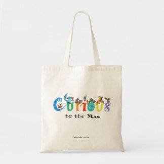Tote Bag Curieux à fourre-tout maximum