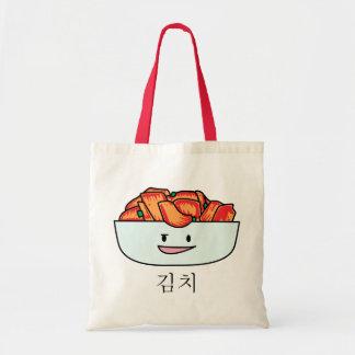 Tote Bag Cuvette heureuse de Kimchi Kimchee - conceptions
