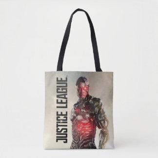 Tote Bag Cyborg de la ligue de justice | sur le champ de