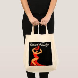Tote Bag Danseur Fourre-tout de flamenco