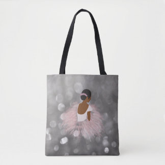 Tote Bag Danseuse de ballerine d'Afro-américain