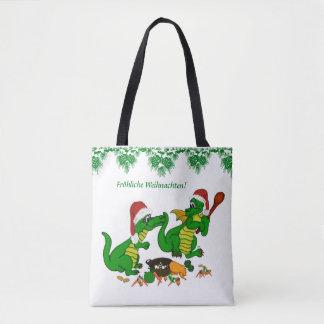 Tote Bag De Noël je cuirai aujourd'hui des dragons,