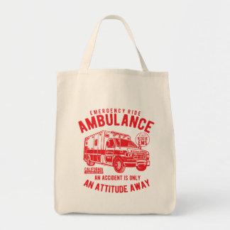Tote Bag Délivrance de l'ambulance SME de tour de secours