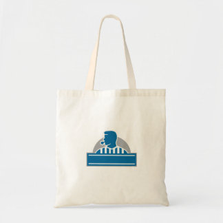 Tote Bag Demi-cercle officiel de sifflement d'arbitre
