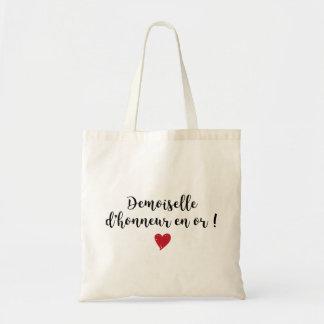 Tote Bag - Demoiselle d'honneur