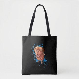 Tote Bag Dessin d'art et de peinture Fourre-tout de chien