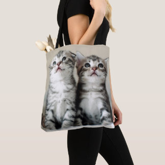 Tote Bag Deux chatons mignons