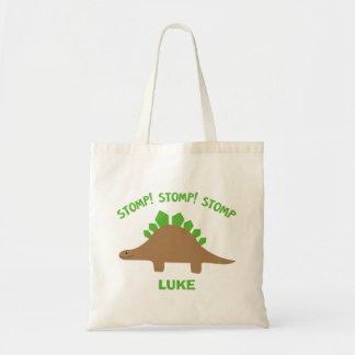 Tote Bag Dinosaure Fourre-tout personnalisé par Stegosaurus