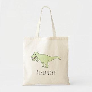 Tote Bag Dinosaure mignon de T-Rex de bébé avec la
