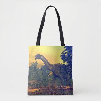Tote Bag Dinosaures d'Ampelosaurus