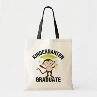Tote Bag Diplômé vert de jardin d'enfants